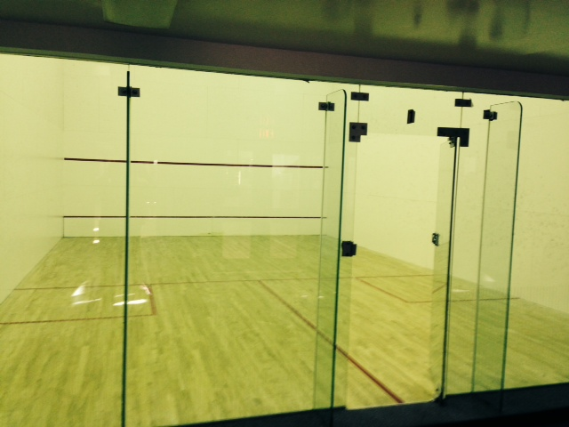 squash & racquetball courts