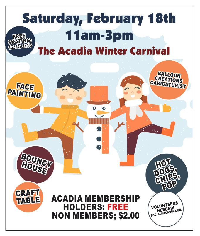Acadia Community Winter Carnival